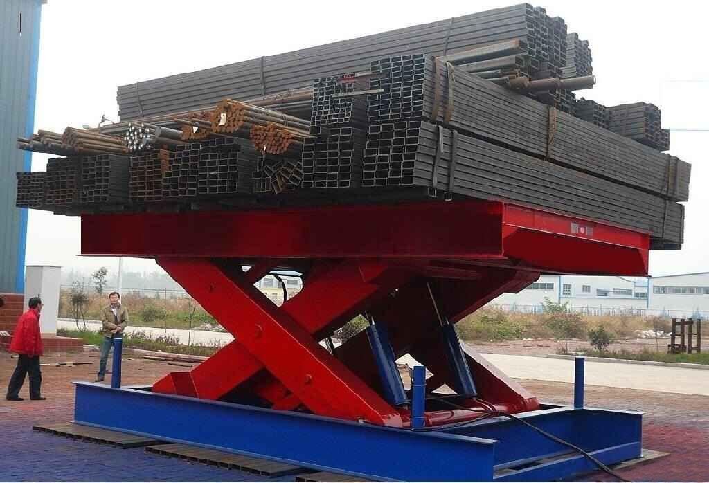 Electric Hydraulic Lift Platform Jinrui Machinery
