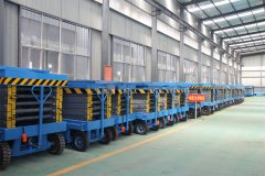 Hydraulic Scissor Lifter Table