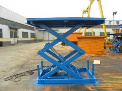 Hydraulic Lift Table Notice