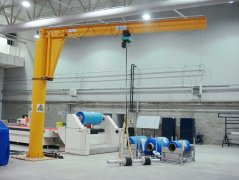 Jib Cranes Save the Working Space and Tim