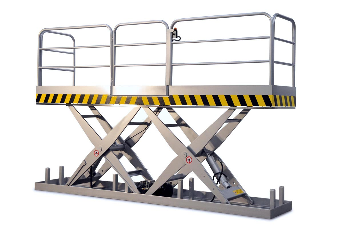fixed scissor lift platform