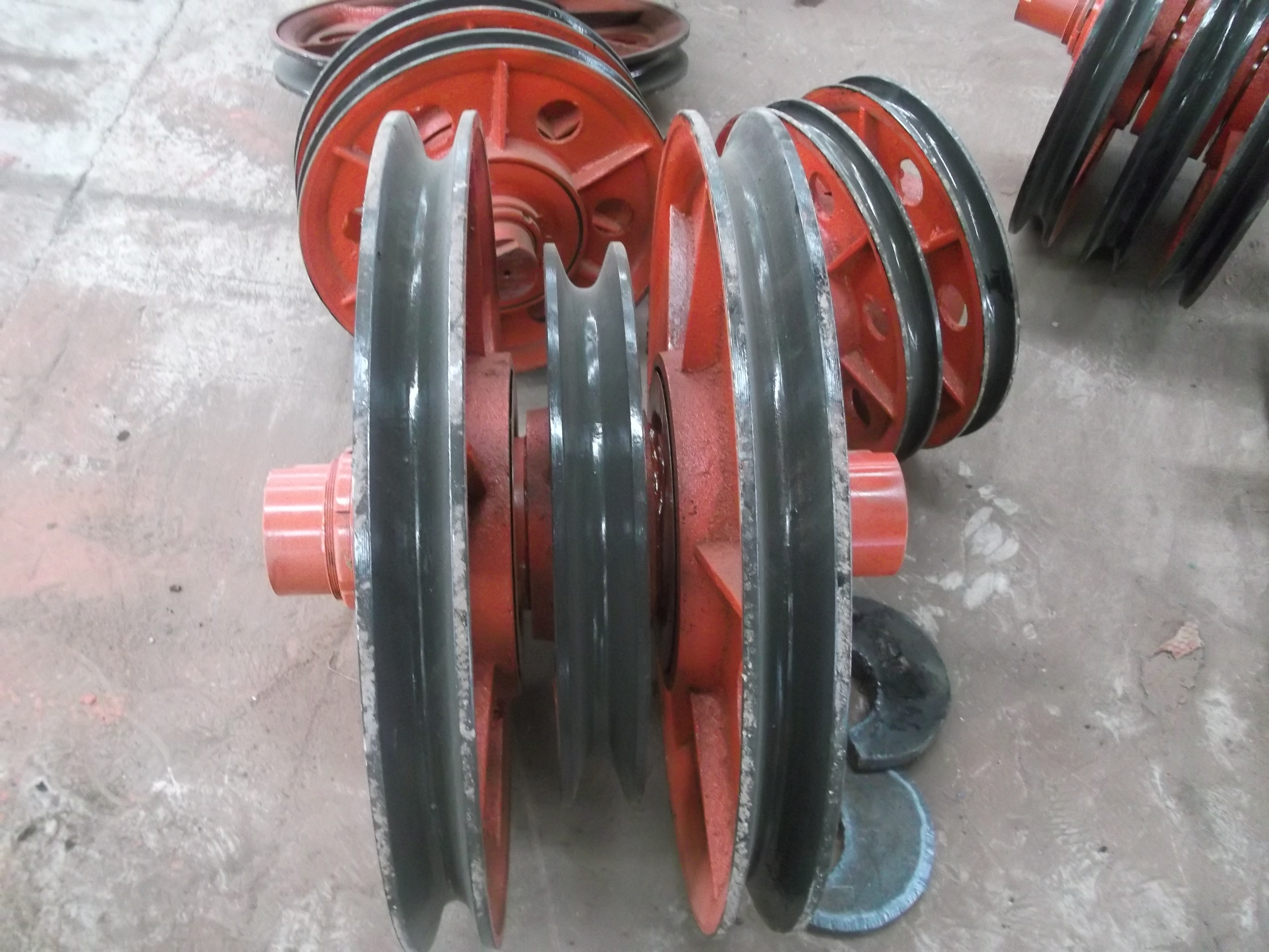 electric hoist pulley
