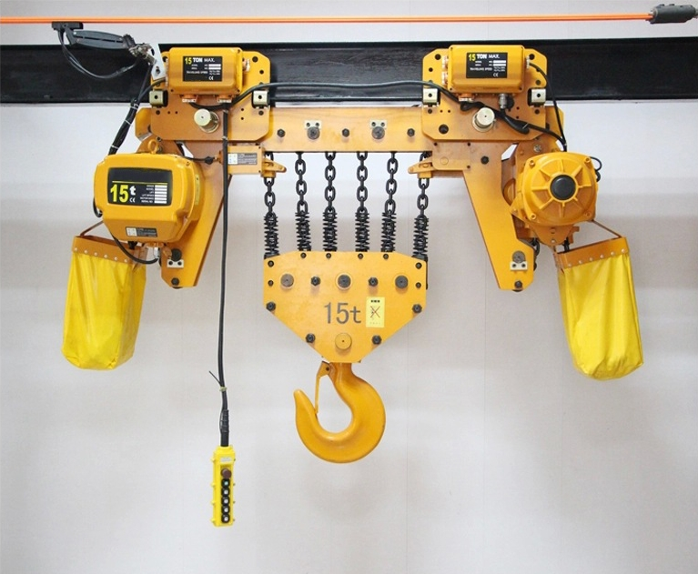 low headroom chain hoist