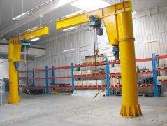 Jib cantilever crane design