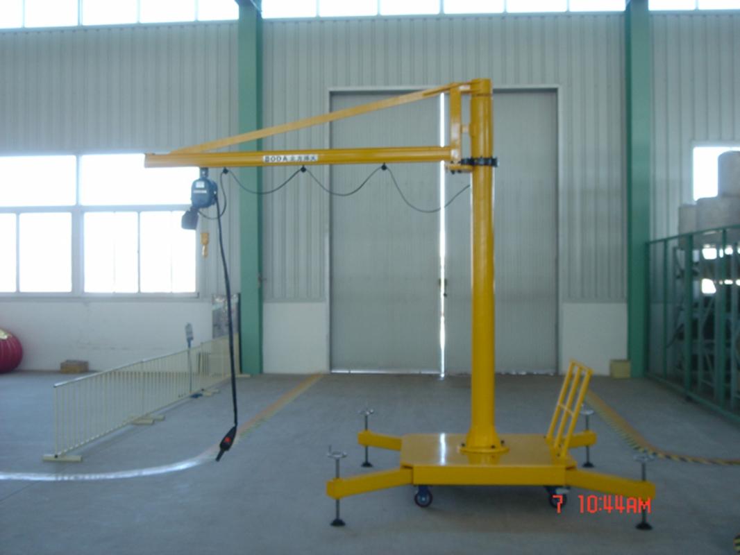 Mobile Crane Jib : Mobile jib crane jinrui machinery