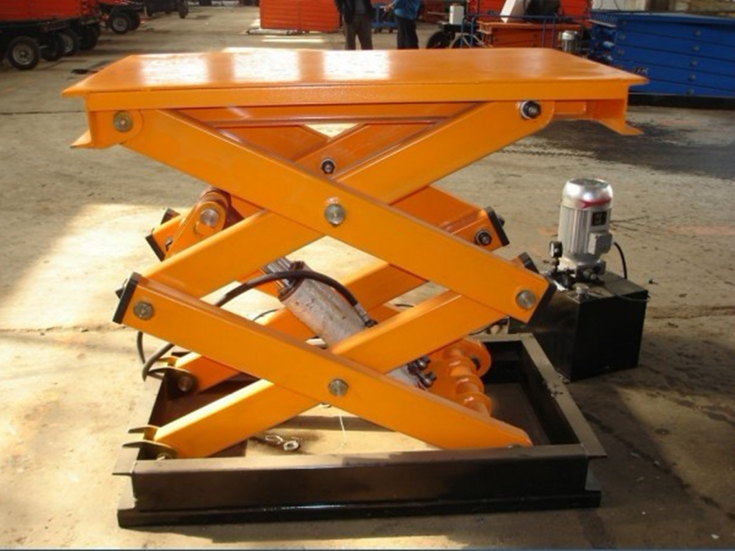 Fixed Scissor Lift Table