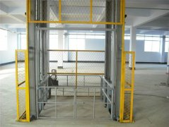Guide Rail Lift Table